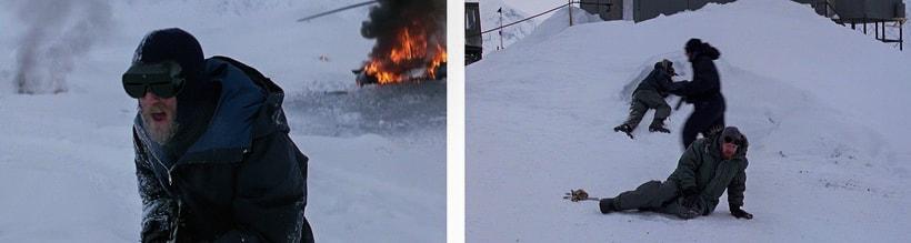 Что кричал норвежец Ларс, когда вышел из вертолета