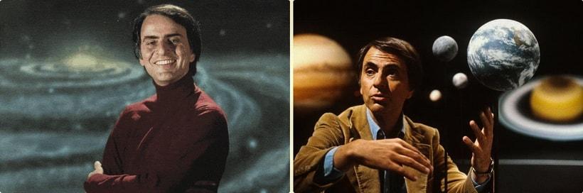 Популяризатор науки Карл Саган (Karl Sagan)