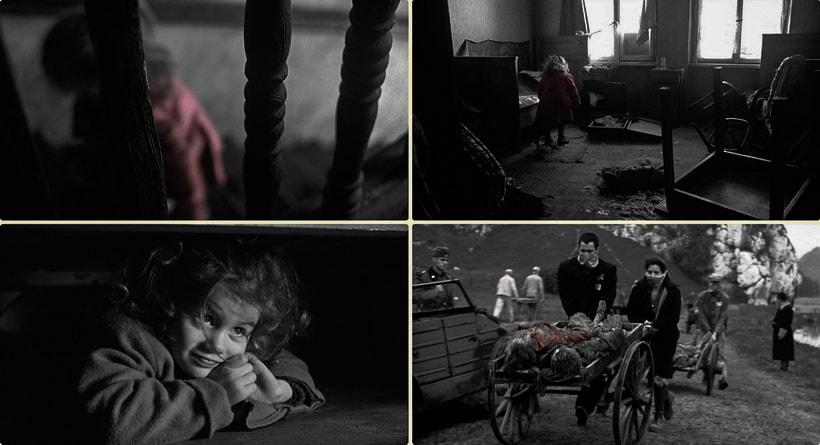 Ребенок в красном пальто - символ злодейств Холокоста