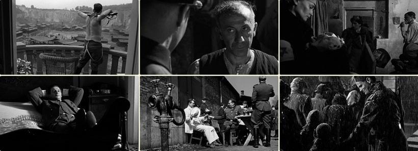 Сцены контрастного восприятия в фильме Schindler's list 1993