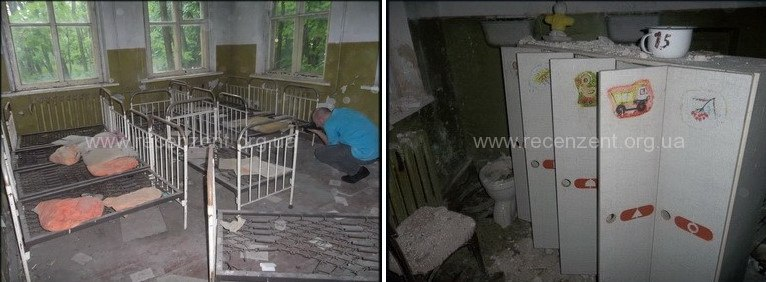 Комнаты детского сада село Копачи