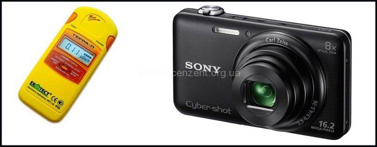 Фотоаппарат и дозиметр