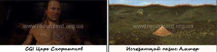 Сомнительный CGI эффекты
