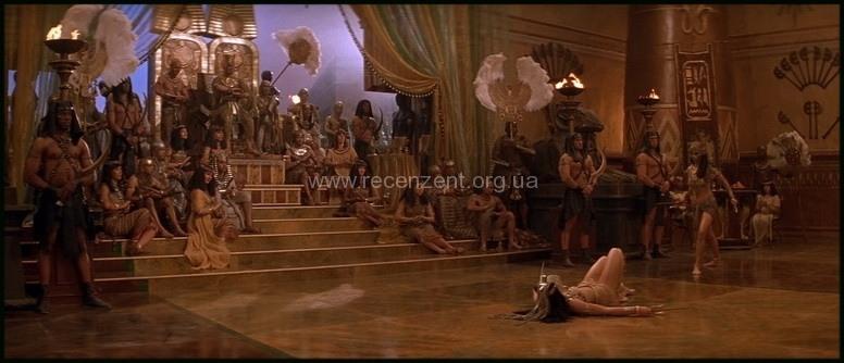 Фараон Сети I и его дочь Нефертити