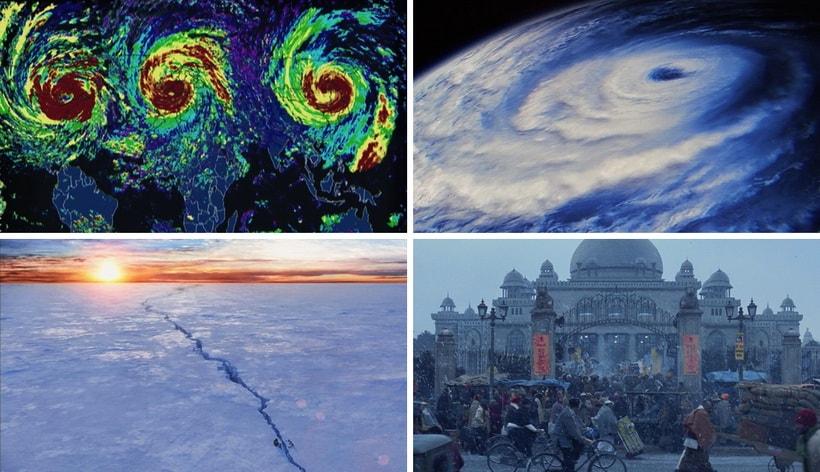 глобальные изменения климата в фильме Послезавтра 2004