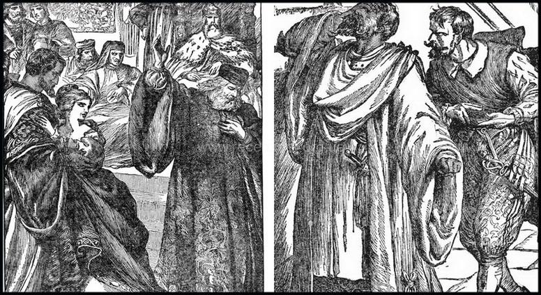 Гравюры из трагедии Шекспира Отелло