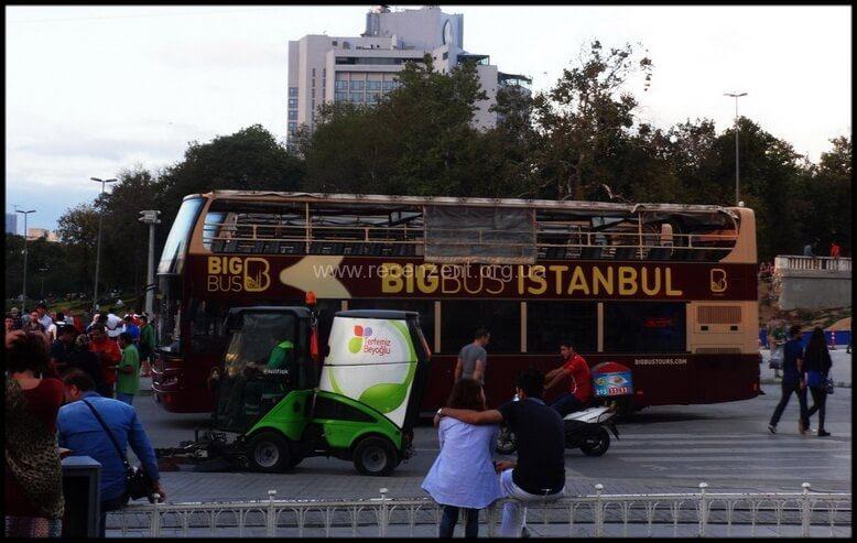 Big Bus Istanbul - Поездка сентябрь 2015