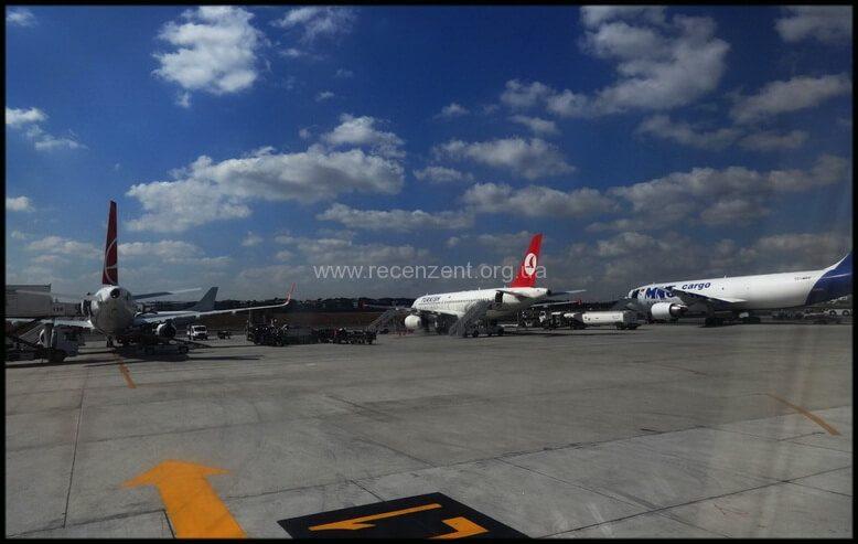 Посадочная полоса аэропорта Ататюрка