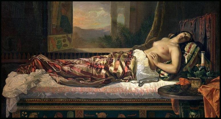 Смерть царицы Клеопатры - Отзыв на книгу