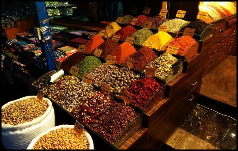 Египетский базар в Стамбуле - цены