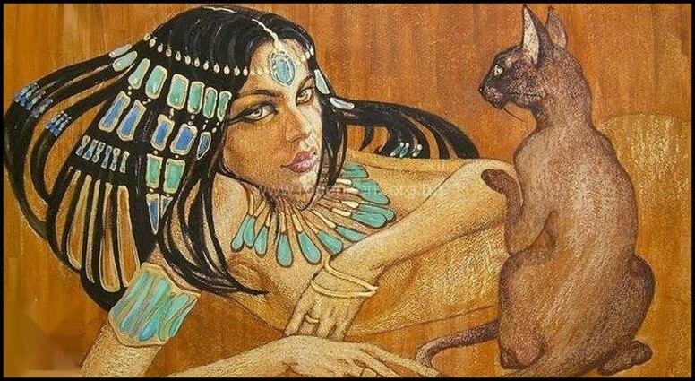 Египетская царица Нефрет - Владычица зари