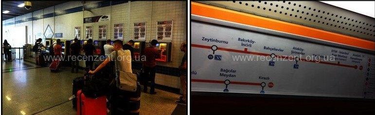 Станции метро Стамбула