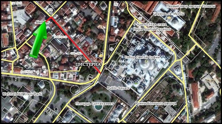 Где покушать в центре Стамбула