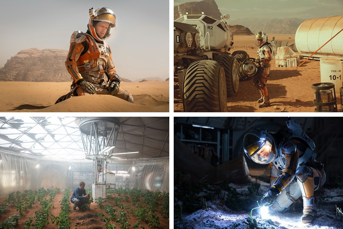 The Martian movie 2015 Ridley Scott