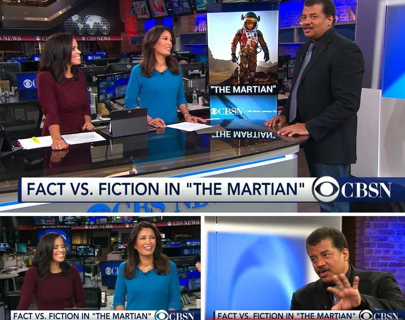 Марсианин и попупуляризация науки