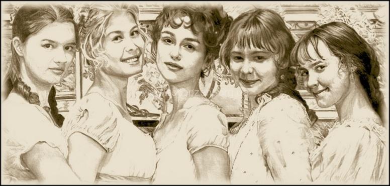 Иллюстрация к книге Гордость и предубеждение