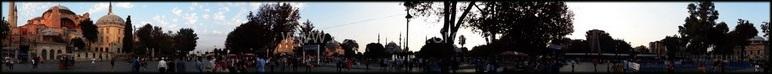 Панорама на площади Султанахмет