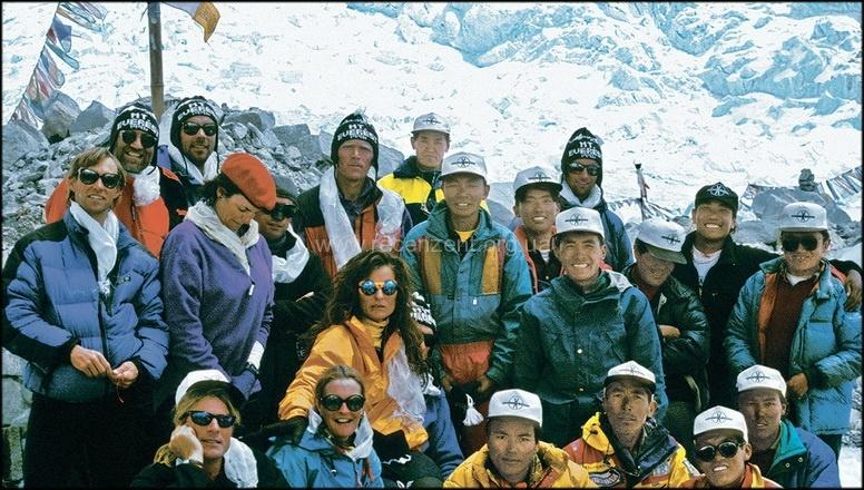 Команда Горного безумия - Эверест май 1996 года