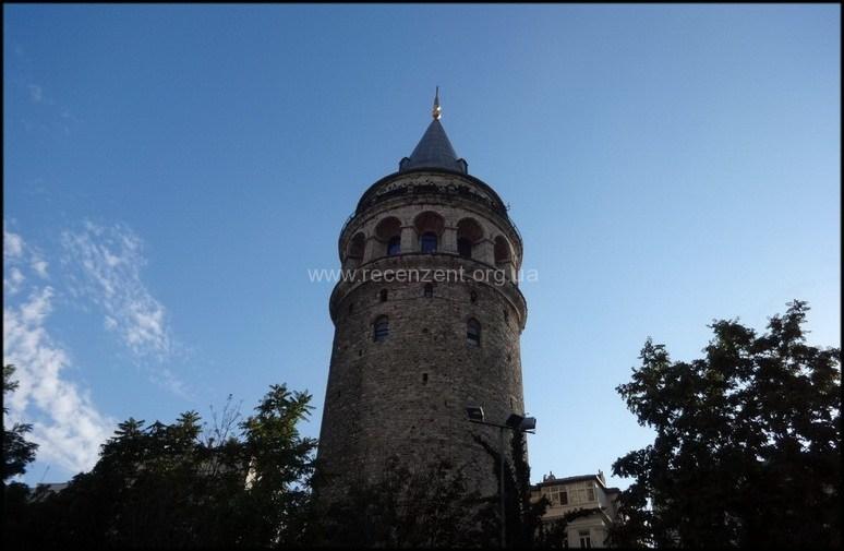 Высота Галатской башни 61 метр