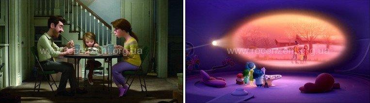 Мыслями наизнанку (Inside Out) мультфильм года