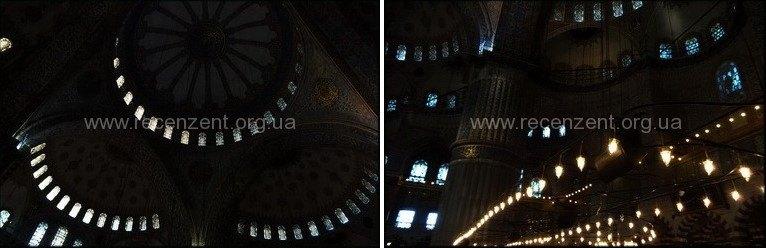 Внутри Голубой Мечети Стамбула