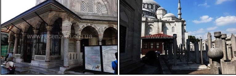 Кладбище Мечеть Сулеймание (Süleymaniye Camii)