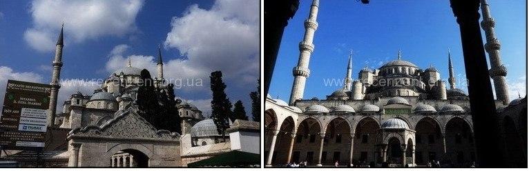 Мечеть Фатих (Fatih Camii) снаружи