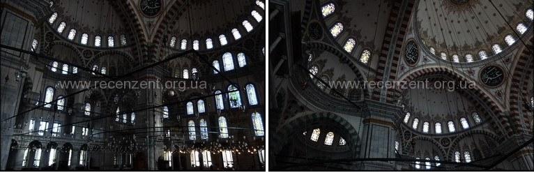 Мечеть Фатих внутри Стамбул
