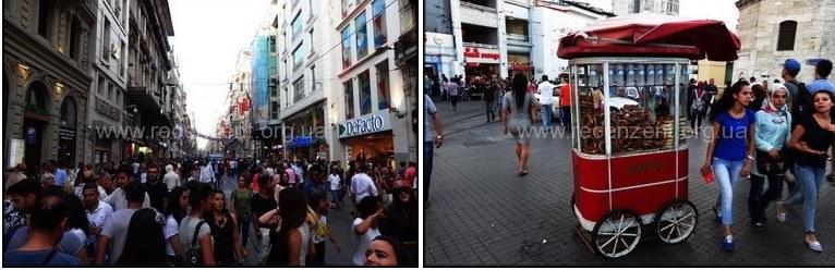 Улица Истиклякль (İstiklal caddesi)