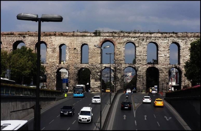 Бульвар Ататюрка и Акведук Валента