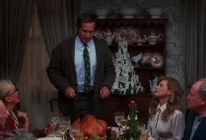 Рождественские каникулы и праздничная индейка на столе