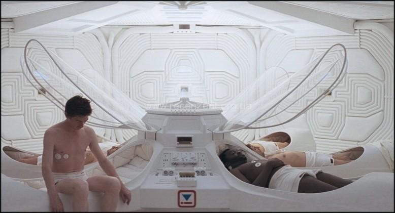 Капсулы гиперсна в фильме Alien 1979