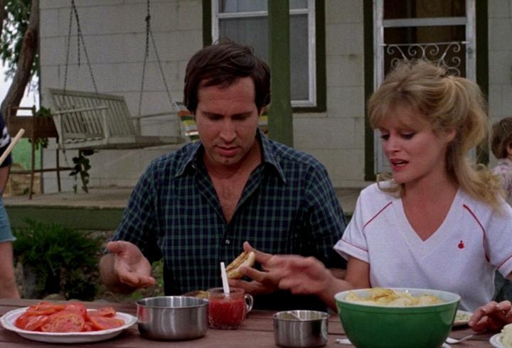 Визит к родственникам на пикник - Гамбургеры без мяса на гриле