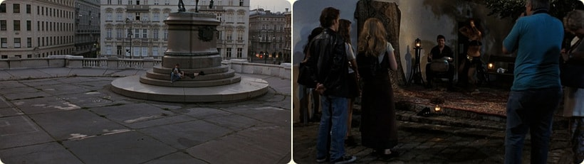 Джесси и Селин гуляют по ночному городу