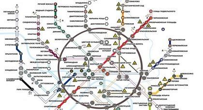 Карта Метро 2033 Глуховский
