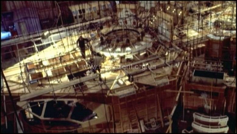 Макет внутренних помещений Ностромо