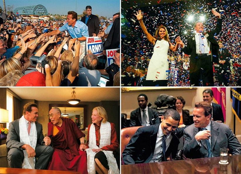 Arnold Schwarzenegger political career