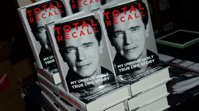 Arnold Schwarzenegger autobiography book