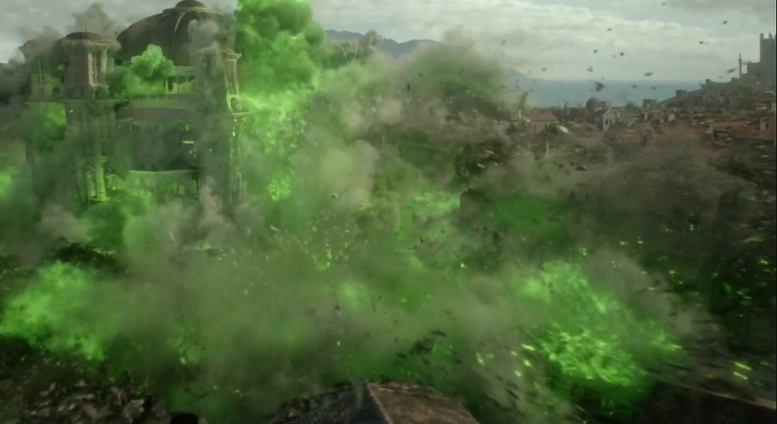 Взрыв Великой Септы Бейлора