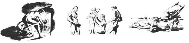 Операции Загар и Голая спина