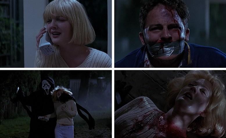 Кейси Бейкер и Стивен Уорт - Scream 1996
