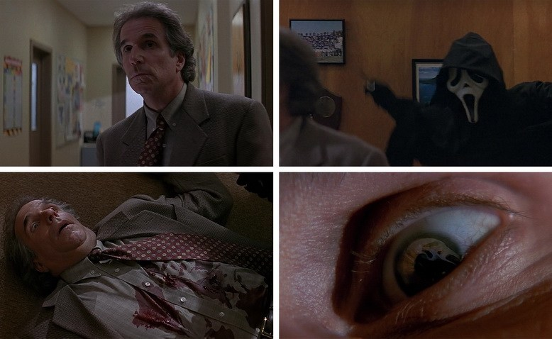 Murder of Principal Himbry. Billy Loomis