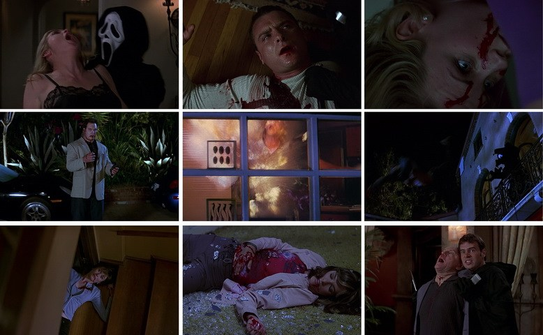 Who were the killer in scream 3 - Roman Bridger