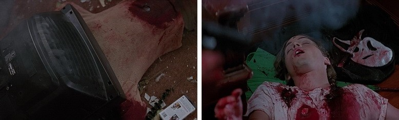 Billy Loomis and Stu Macher scream killers