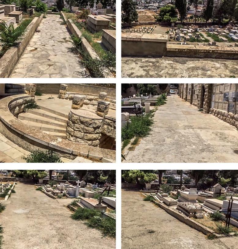 Фотографии католического кладбища в Иерусалиме