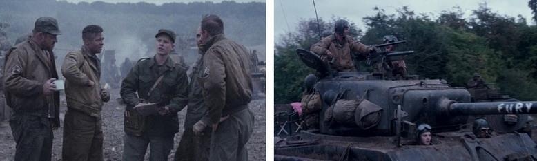 Военная драма Ярость Fury 2014