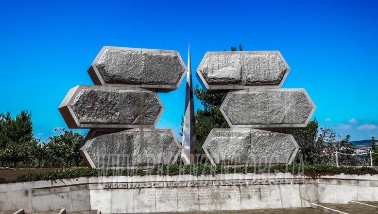 Монумент еврейским солдатам и партизанам