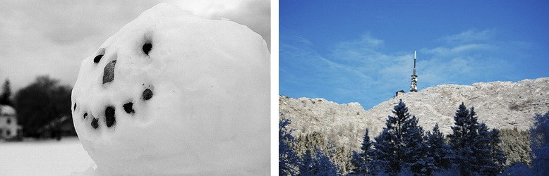 Снеговик Ю Несбе - атмосфера зимы в Норвегии