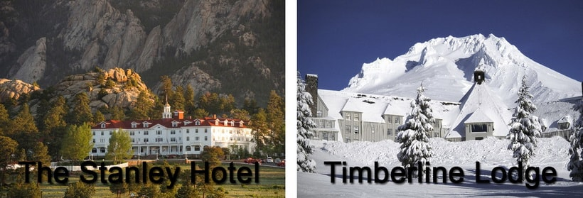 Timberline Lodge и The Stanley Hotel