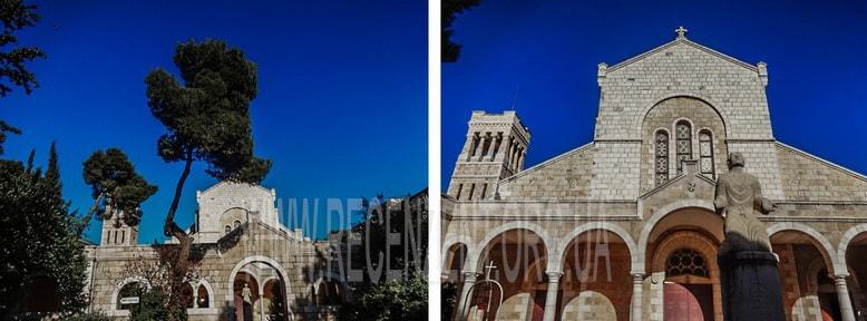 Монастырь Сент Этьен Иерусалим